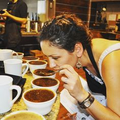 Today is #women #entrepreneurship day!! Here is a #TBT pic of Mariana founder of #ticoroasters  #cupping at origin. Her passion for #coffee and #love for #agriculture and #farmers were the catalyst to start this #company in a #foreign land. Congratulations to all #powerful and #determined #women who are changing our #world for the best. Here is a podcast interview that was recently made to #Mariana. http://ow.ly/Uu70G #womeninbusiness #womenceo #uniqueexperience #specialtycoffee…