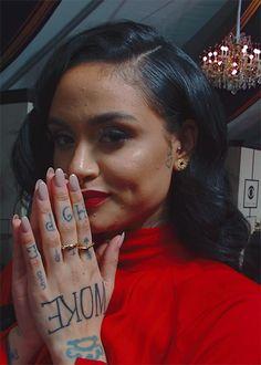 Kehlani at the 2016 Grammy Awards