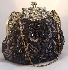 Vintage purse  https://www.facebook.com/myselfjewelery?sk=app_251458316228 such work beatiful Vintage Purses, Vintage Clutch, Vintage Bags, Vintage Handbags, Vintage Outfits, Vintage Embroidery, Hungarian Embroidery, Coach Purse, Coach Bags