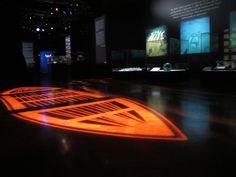 Titanic exhibition - lifeboat