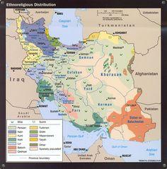 Iran: ethnoreligious distribution