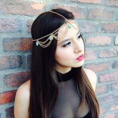 Stone Cold Princess Head Chain