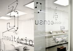 Signage project to Dauro Oliveira, by Greco Design. #pictogram #dentist