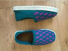 Hand-knit Shoes