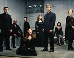 Six Feet Under - very cool show ! Watching the final season right now !