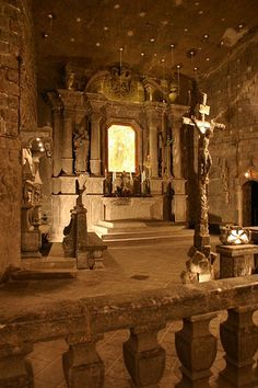 Chapel out of salt, Wieliczka salt mines Europe Centrale, Poland Travel, Krakow Poland, Old Churches, Central Europe, Place Of Worship, Eastern Europe, Wonders Of The World, Places To See