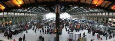 Vue panoramique de la Gare de Lyon à Paris - 2007