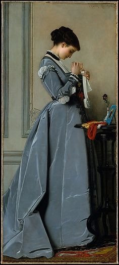 Charles-François Marchal (French,1825–1877). Penelope, 1868. The Metropolitan Museum of Art, New York. Gift of Mrs. Adolf Obrig, in memory of her husband, 1917. (17.138.2)