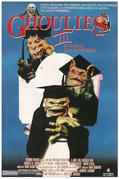 Ghoulies Go to College aka Ghoulies III is a 1991 American comedy horror film directed by special effects creator John Carl Buechler (Cellar Dweller; Friday the 13th Part VII; Watchers Reborn) from…