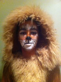 The Lion in a MS production of the Wizard of Oz.