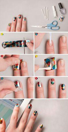 nail confettie