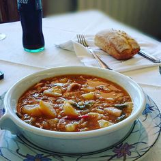 Marmitako frente al mar... Sensacional! #delimoments Chili, Soup, Instagram, Chile, Soups, Chilis