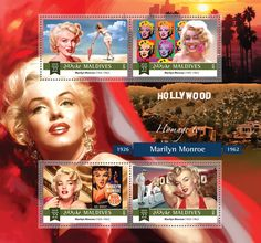 Post stamp Maldives MLD a Marilyn Monroe Marilyn Monroe 1962, Maldives, Stamps, Baseball Cards, The Maldives, Seals, Postage Stamps