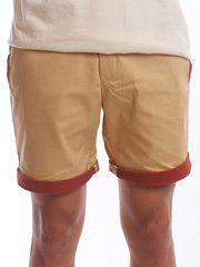 Brown-Brown Walking Shorts | $22