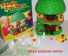 Weebles Tree House - do u remember this sister???