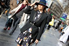 Paris Fashion Week - Fall/Winter 2014-15 #pfw #fashionweek #Streetstyle #pfw2014 #pfw14