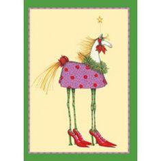 Tally Ho Horse Boxed Cards