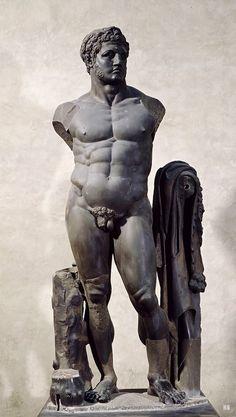 Colossal Sculpture Depicting Hercules. Roman. Flavian Period. 2nd.century AD.