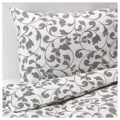 ROSTVIN Duvet cover and pillowcase(s) - Full/Queen (Double/Queen) - IKEA