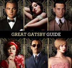 The Great Gatsby Character Guide & 1920s Fashions
