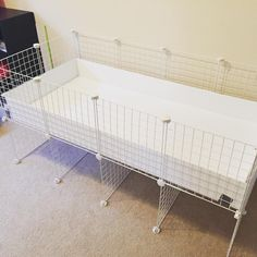 Boom C&C cage made AT HOME! Pretty proud of myself #cavylove #cccage #diy