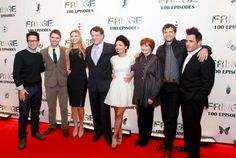 #Fringe Cast at the 100 Episode Party at Fairmont Pacific Rim, #Vancouver.