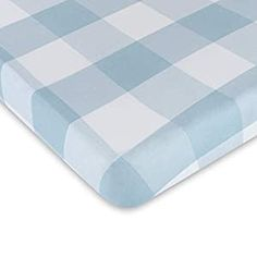 Perfect for your Baby and Nursery Ely's & Co. Baby Crib Sheet 100% Jersey Cotton Dusty Blue Gingham Design for Baby Boy,Ely's & Co. Baby Crib Sheet 100% Jersey Cotton Dusty Blue Gingham Design for Baby Boy, Comfortable, Soft Material: 100% High Quality Jersey Knit Cotton Beautiful Dusty Blue Design: Makes the Perfect gift for a baby boy Flexible Fit: Fits all standard Crib Mattresses and...