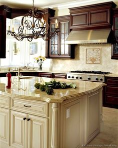 DWELLINGS-The Heart of Your Home: Choosing Kitchen Lighting ~ What's Your Style?