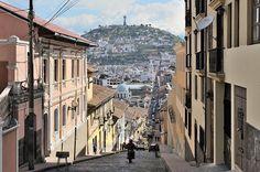 Street of Quito, Ecuador