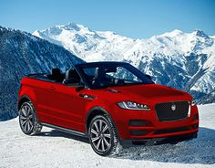 """Check out new work on my @Behance portfolio: """"Jaguar F-Pace Convertible"""" http://be.net/gallery/45017949/Jaguar-F-Pace-Convertible"""