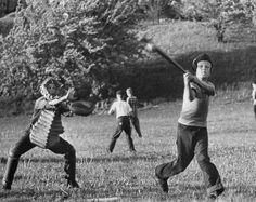 Little league baseball pratice.