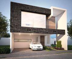 Resultado de imagen para fachadas de casas modernas con rejas #casasminimalistasexterior #casasmodernasfachadasde