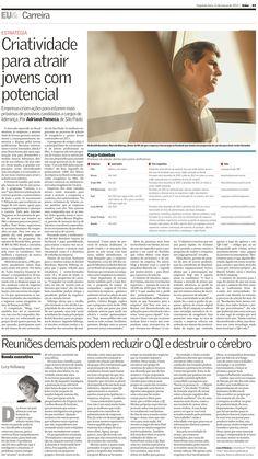 Título: Criatividade para atrair jovens com potencial  Veículo: Valor Econômico  Data: 13- março- 2012  Cliente: Across