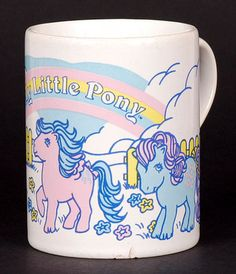 Funny Unicorn Coffee Mug - I Wish I Could Stab Idiots With My Head - Unique Gift Idea for Her or Him - Present for Coworker, Colleague, Boyfriend, Girlfriend, Mom My Little Pony List, Vintage My Little Pony, Little Ones, 90s Childhood, Childhood Memories, Unicorn Coffee Mug, New Friendship, Nerd, Retro Toys
