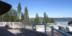 Home with Coeur d'Alene Lake View and Deeded Boat Slip!