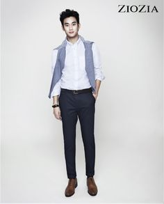 Kim Soo Hyun (김수현) for ZIOZIA (지오지아) 2012 F/W #13 #KimSooHyun #SooHyun #ZIOZIA