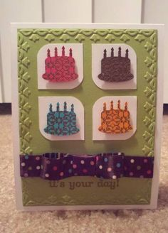 It's Your Day by Challenor - Cards and Paper Crafts at Splitcoaststampers