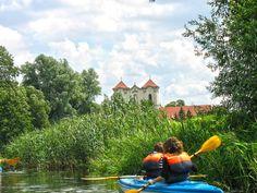 Klasztor pocysterski - widok z rzeki Wełna. #wagrowiec #wielkopolska #polska #poland #wągrowiec #klasztor #rzeka #river #monastery #welna