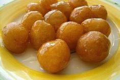 """Lokma Originaires d'Anatolie, ces petites """"bouchées"""" sont très prisées des Turcs. Ces petits beignets à base de pâte assez molle, enri..."""