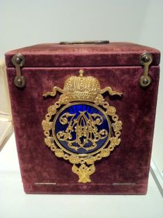 Faberge Imperial Presentation Box, which held the basket of lilies of the valley that was Alexandra's favorite object.