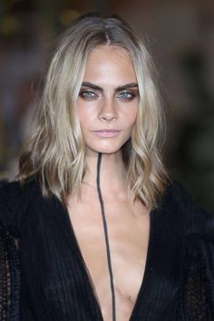 Cara Delevingne's new look. Long bob