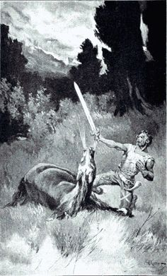 Death of Roland  in Story of Old France
