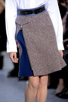 Chloé Fall 2013 Ready-to-Wear Fashion Show - moda Fashion Details, Diy Fashion, Fashion Show, Fashion Design, Fall Fashion, Chloe Fashion, Fashion Models, Abaya Style, Mode Inspiration
