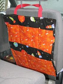 Sprouts: Car Organizer Tutorial