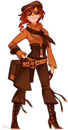 Coco Adel from Roosterteeth's animated web series, RWBY.