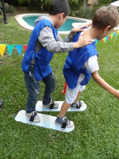 cumpleaños a aire libre- Team Building Espacio didáctico eventos infantiles