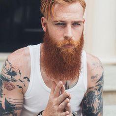 Estes Homens Fantásticos, suas barbas Maravilhosas (for-redheads:   By request, more Gwilym Pugh. ...)