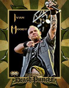 Ivan Moody New Bands, Great Bands, Cool Bands, Metallica, Jason Hook, Ivan Moody, Five Fingers, Photo Work, Bmth