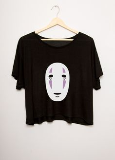 Wear your favorite friend's face from Spirited Away. This tee is 100% cotton and is shipped free worldwide from Japan. One size only, about a small/medium in US standards.