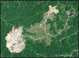 Hobet-21 Mine, West Virginia : Image of the Day : NASA Earth Observatory 12.23.2007